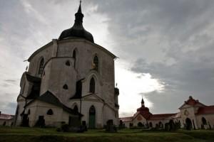 Žďár nad Sázavou | kostel sv. Jana Nepomuckého na Zelené hoře